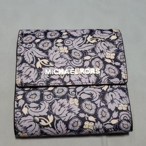 Michael Kors floral wallet